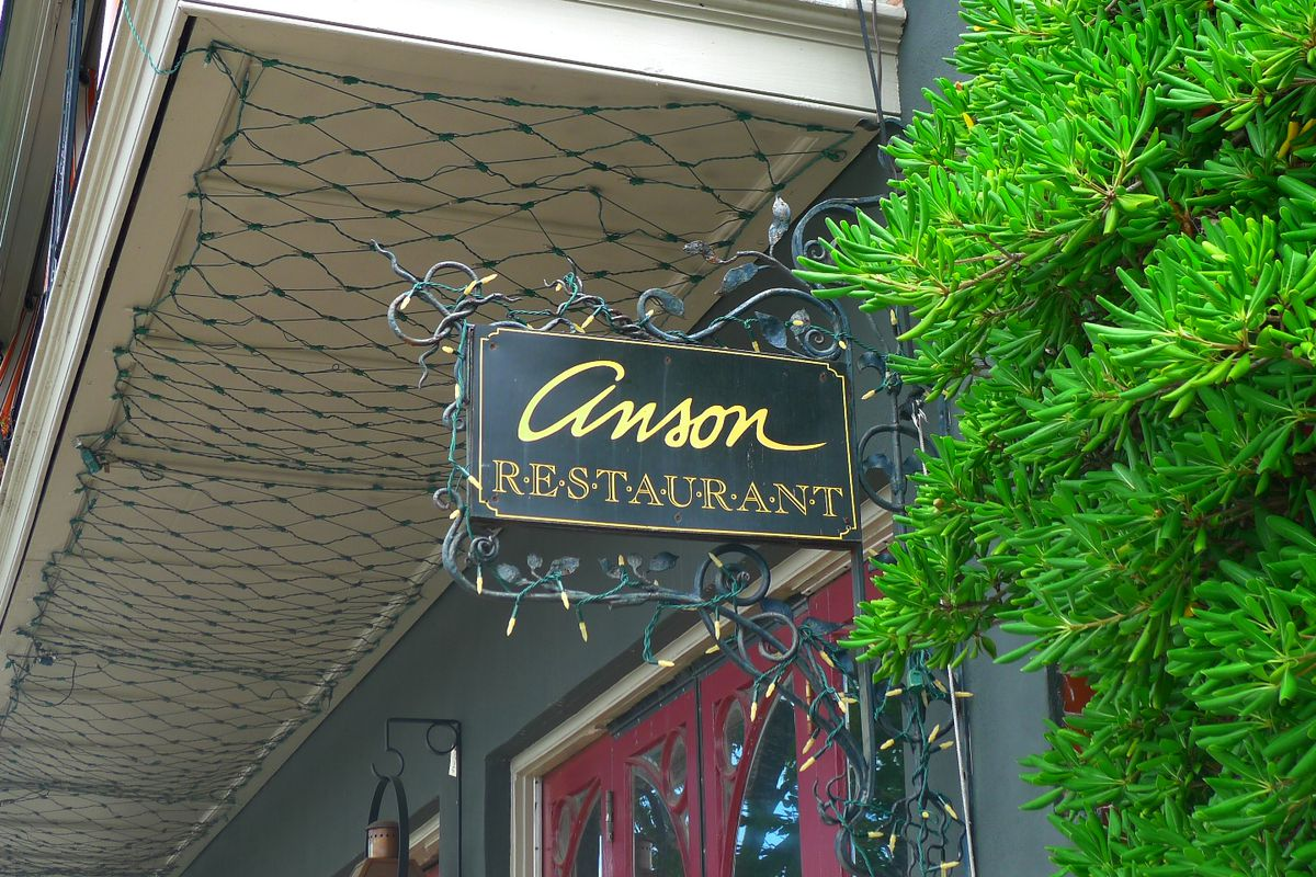 Anson Restaurant to Reopen on Thanksgiving Day: Here\'s the Menu ...