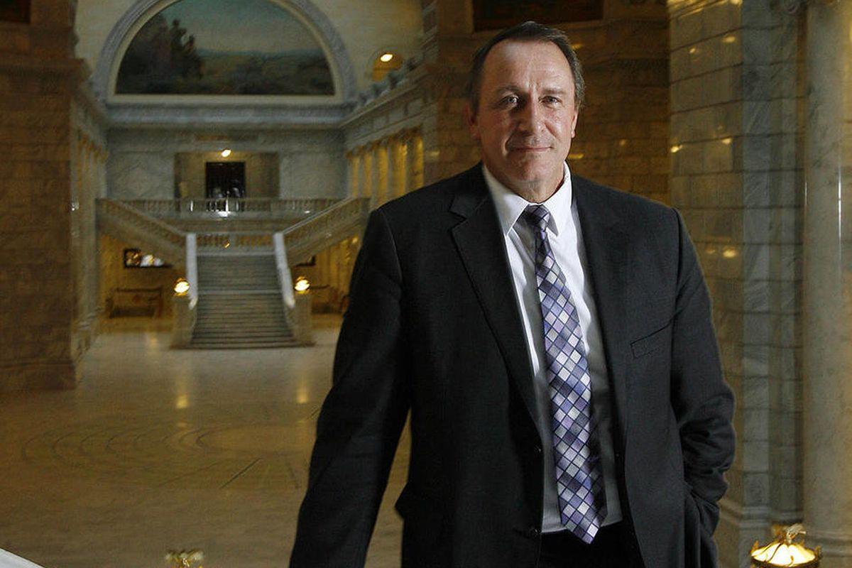 Attorney General Mark Shurtleff poses for a photo at the Capitol in Salt Lake City, Tuesday, Dec. 18, 2012.