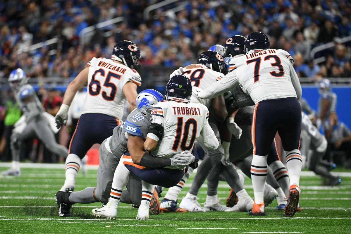 Chicago Bears Sackwatch 2019: Week 13 vs. the Detroit Lions