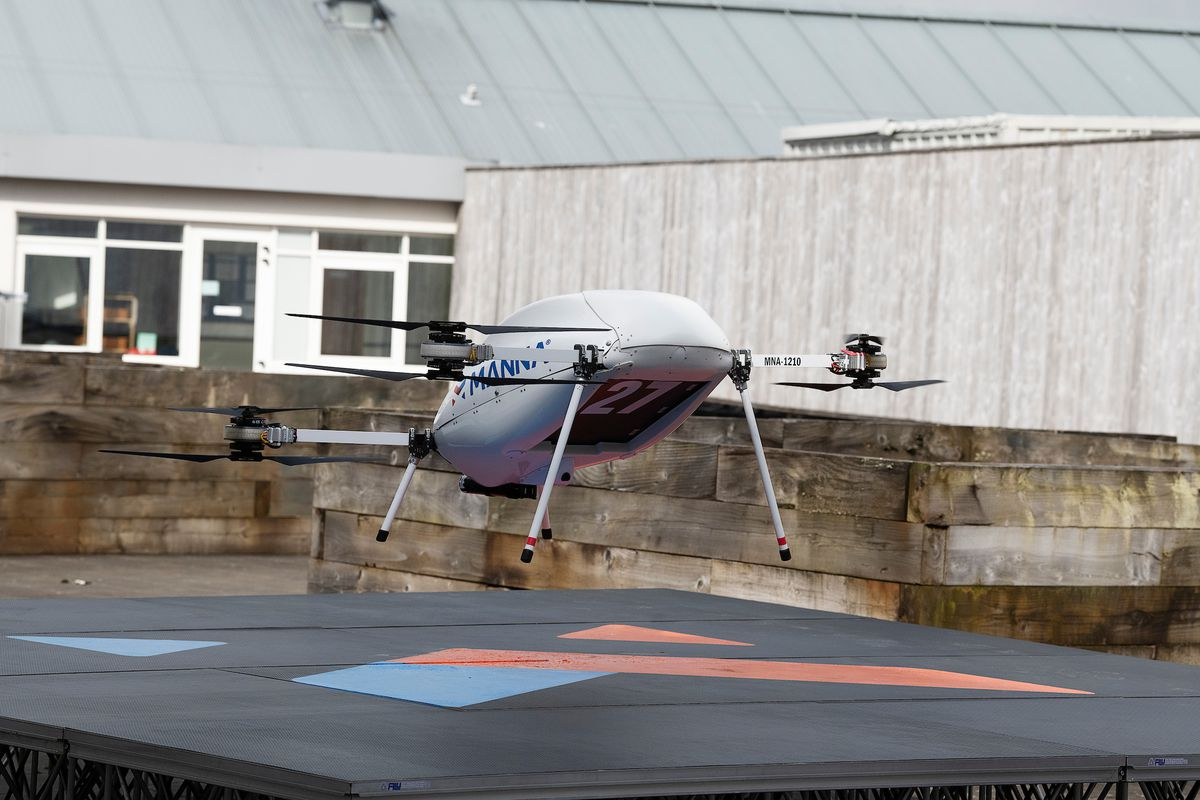 Samsung's new partnership offers another glimpse of a drone delivery future  — in only one Irish town - The Verge