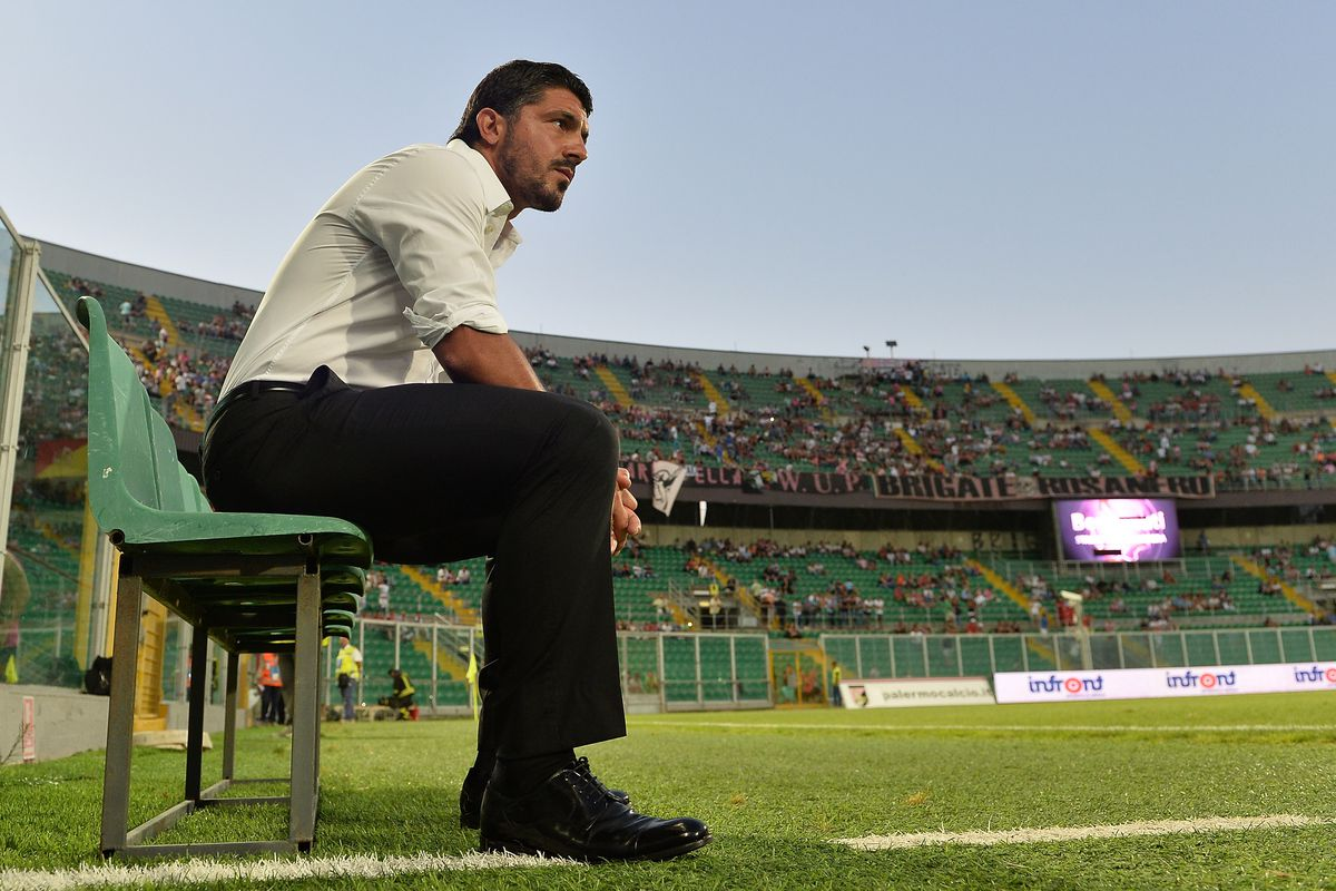 Three times he failed as manager. Today, Rino Gattuso got through a full season for the first time--and led AC Pisa from Lega Pro to Serie B.