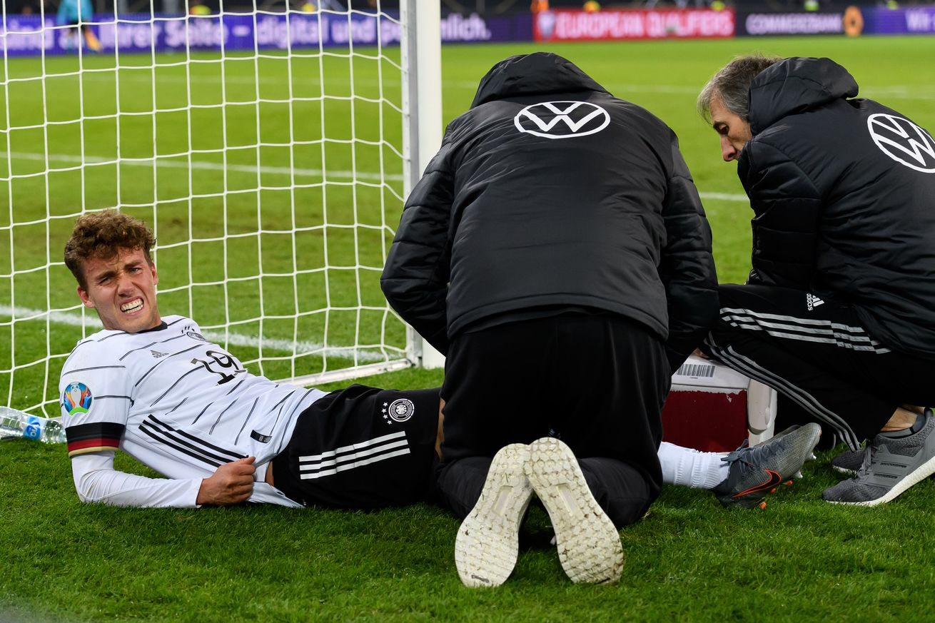 Luca Waldschmidt fractures face, injures knee and ankle in Germany?s 4-0 win over Belarus