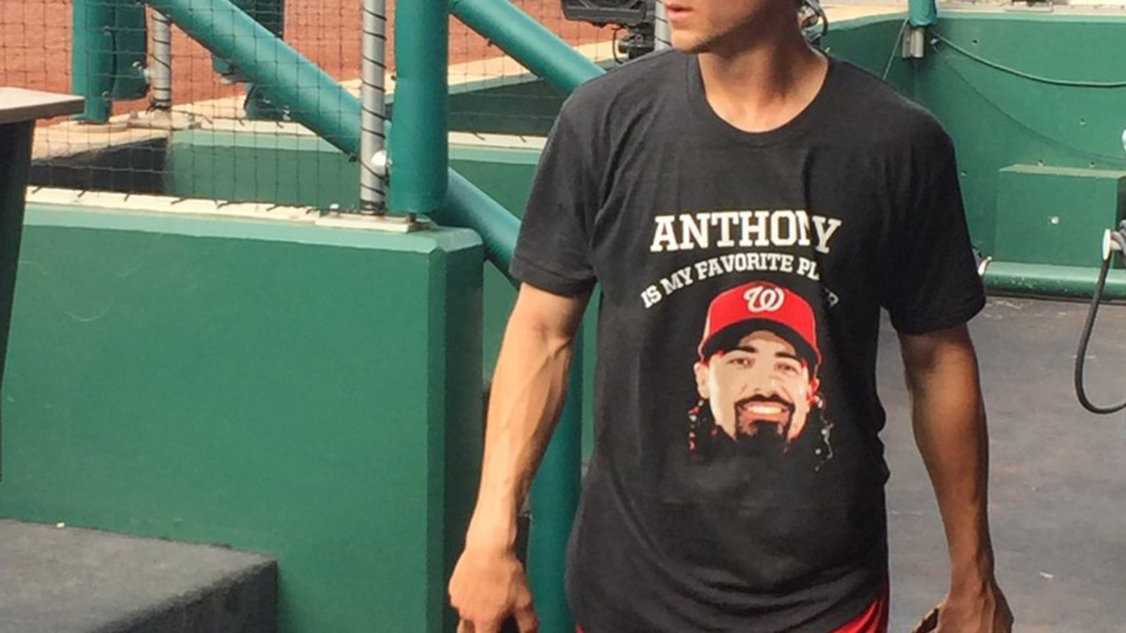 premium selection 86cf4 8767f Anthony Rendon and Trea Turner wore t-shirts declaring each ...