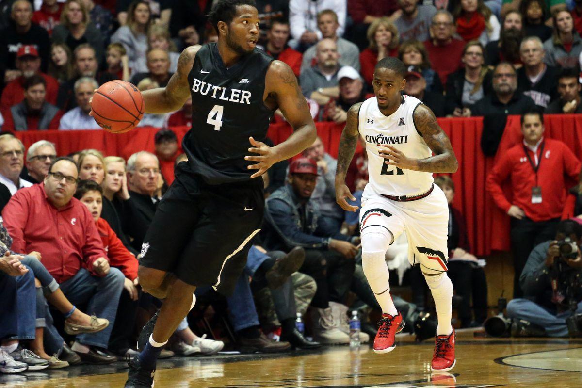 NCAA Basketball: Butler at Cincinnati