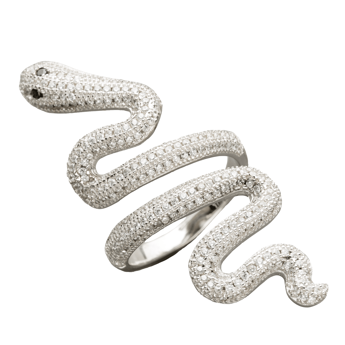 Taylor Swift Silver Snake Ring, $60