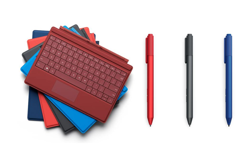 Surface 3 covers pens