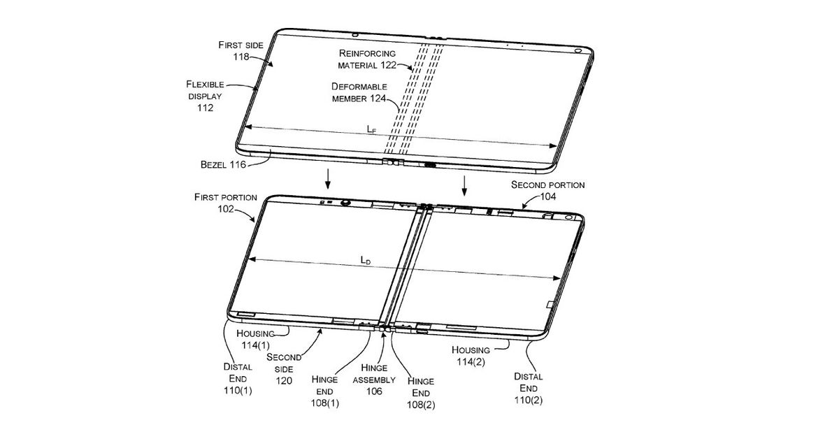 Microsoft is working on foldable Surface devices with liquid-powered hinges