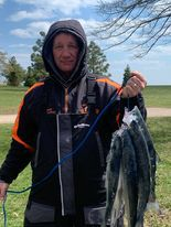 Coho limit on the Chicago lakefront. Provided by Greg Laveau