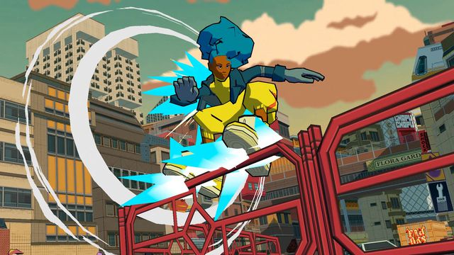Jet Set Radio-inspired Bomb Rush Cyberfunk coming in 2022