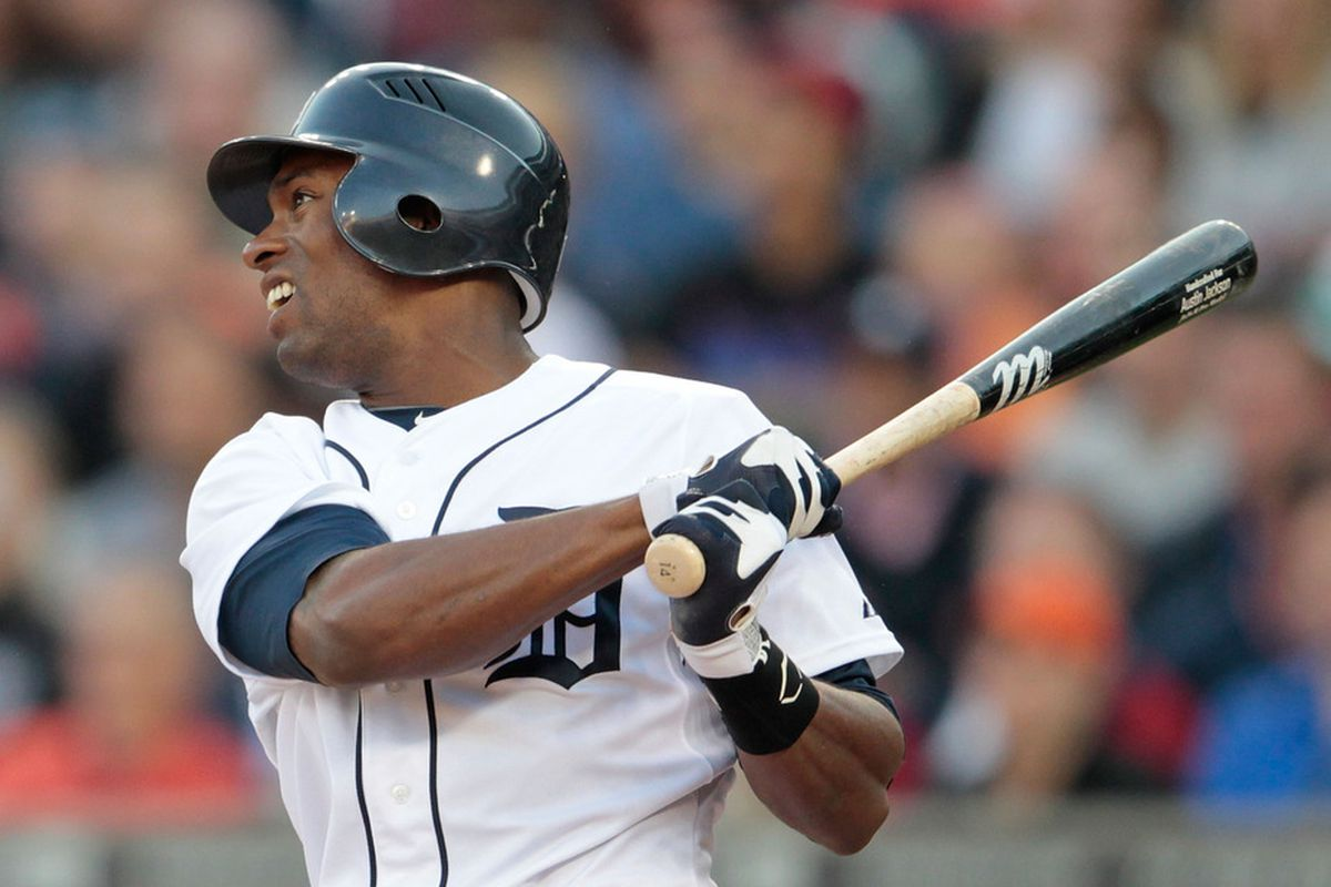 Austin Jackson is day-to-day