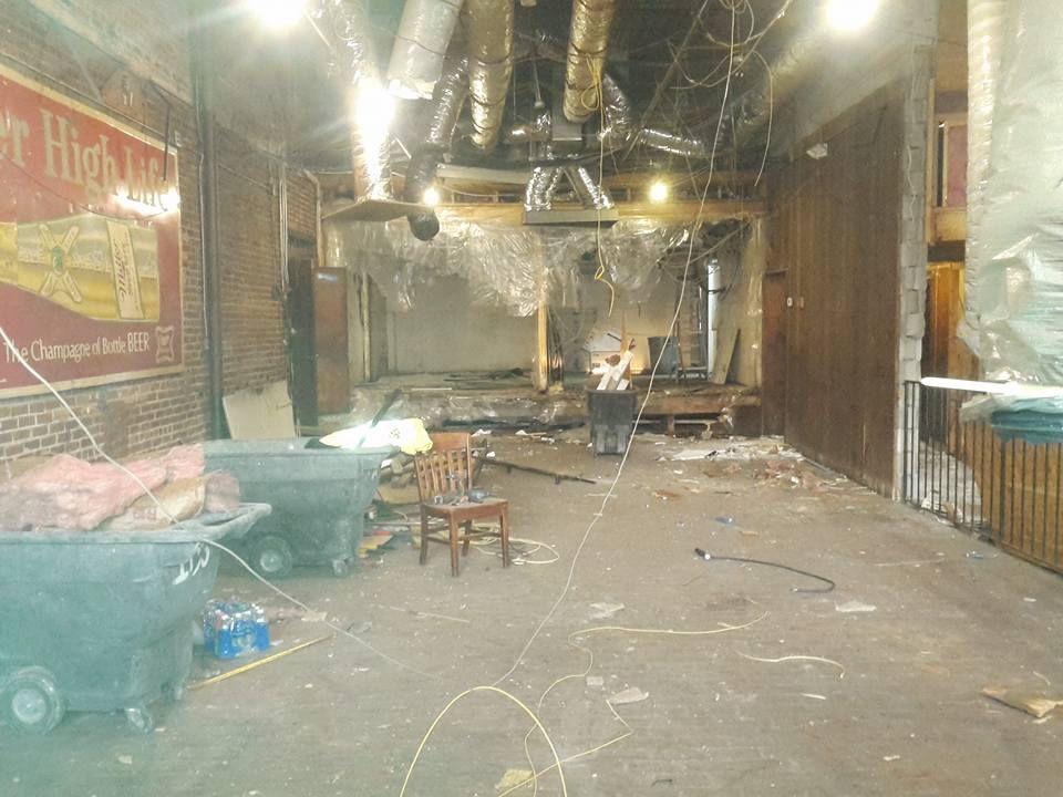 Manuel's Tavern renovation 4
