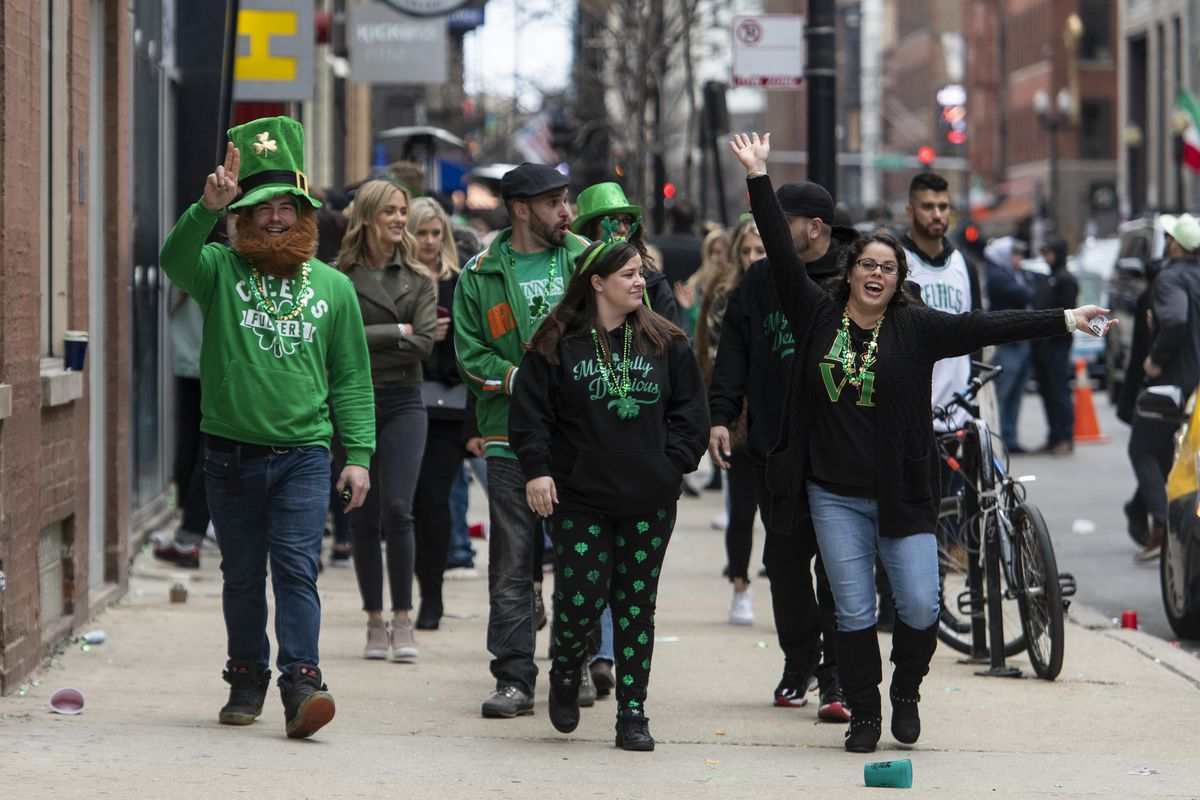 St. Patrick's Day partiers hit the town over officials' pleas amid coronavirus outbreak