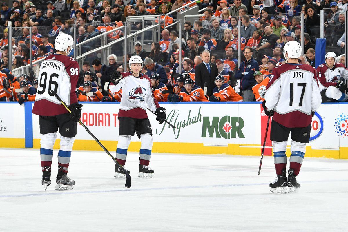 Colorado Avalanche v Edmonton Oilers