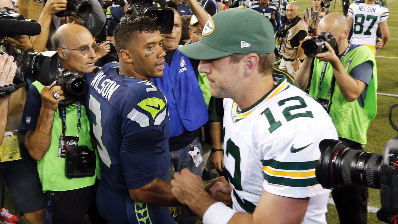 2015 Nfl Playoffs Green Bay Packers Vs Seattle Seahawks