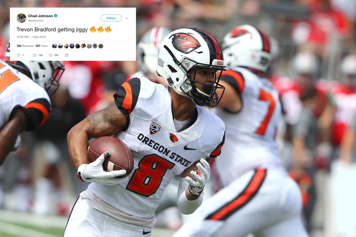 Best Tweets From Oregon State Football S Loss To Ohio State