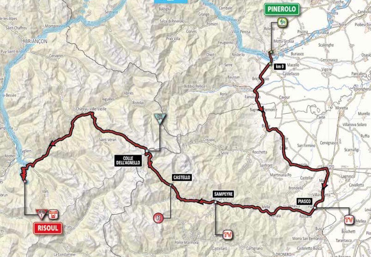 Giro St 19 map
