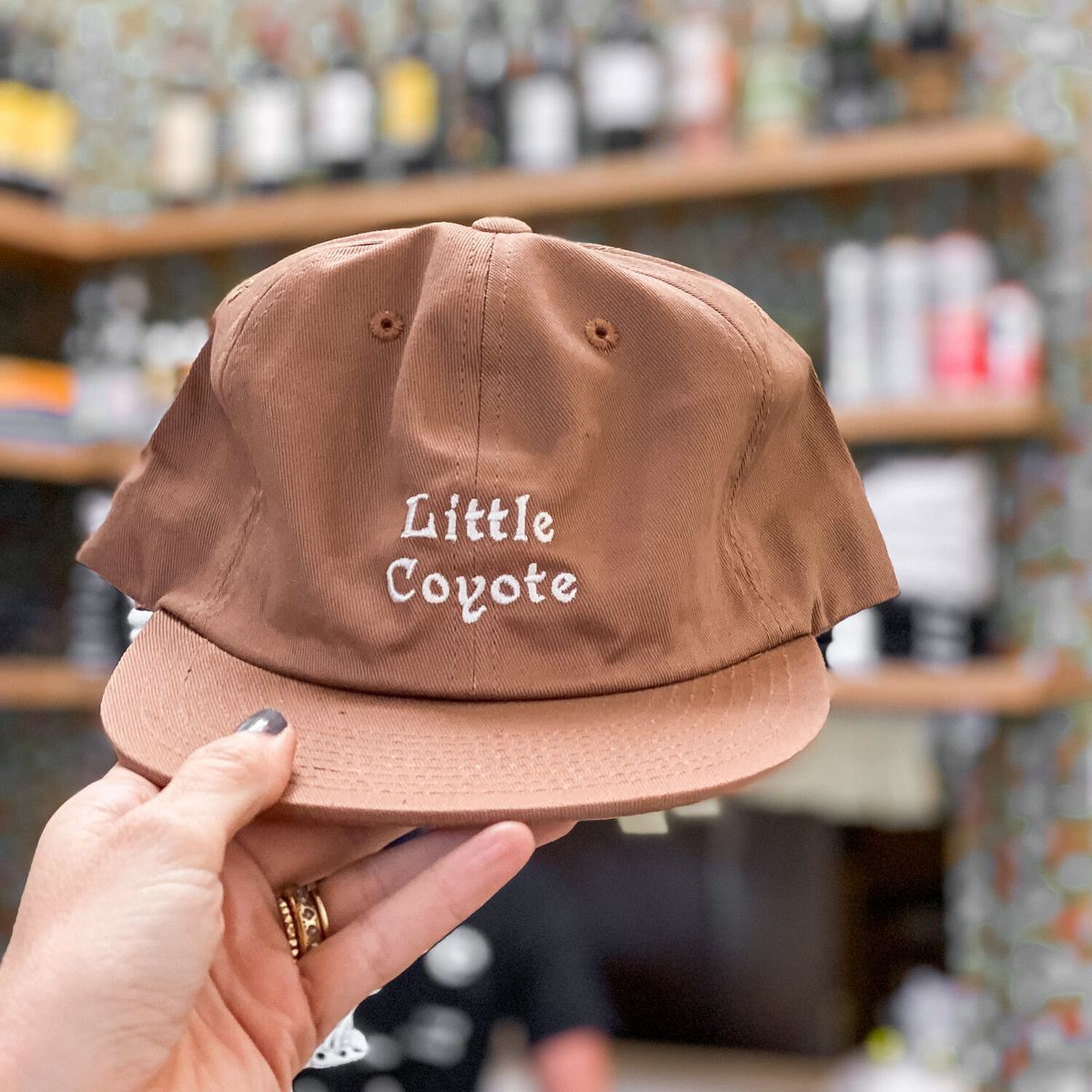 Little Coyote dad hat