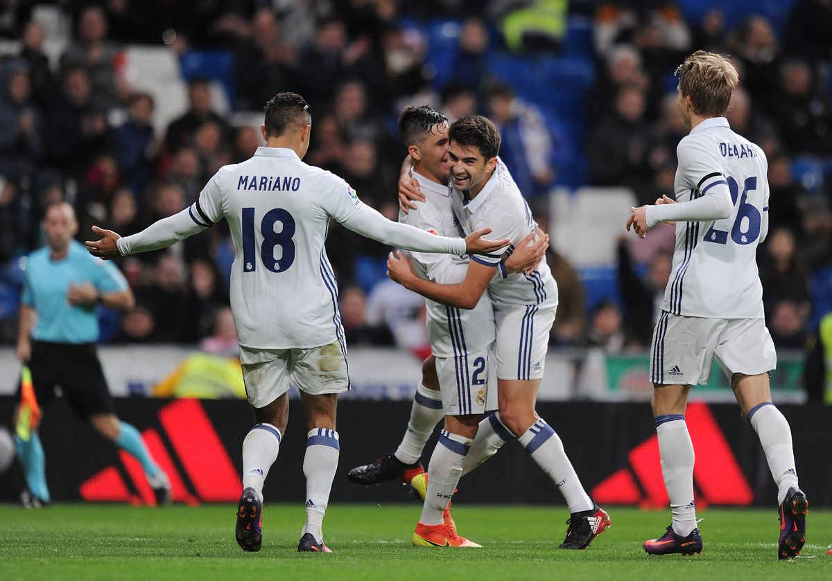Real Madrid v Cultural Leonesa - Copa del Rey