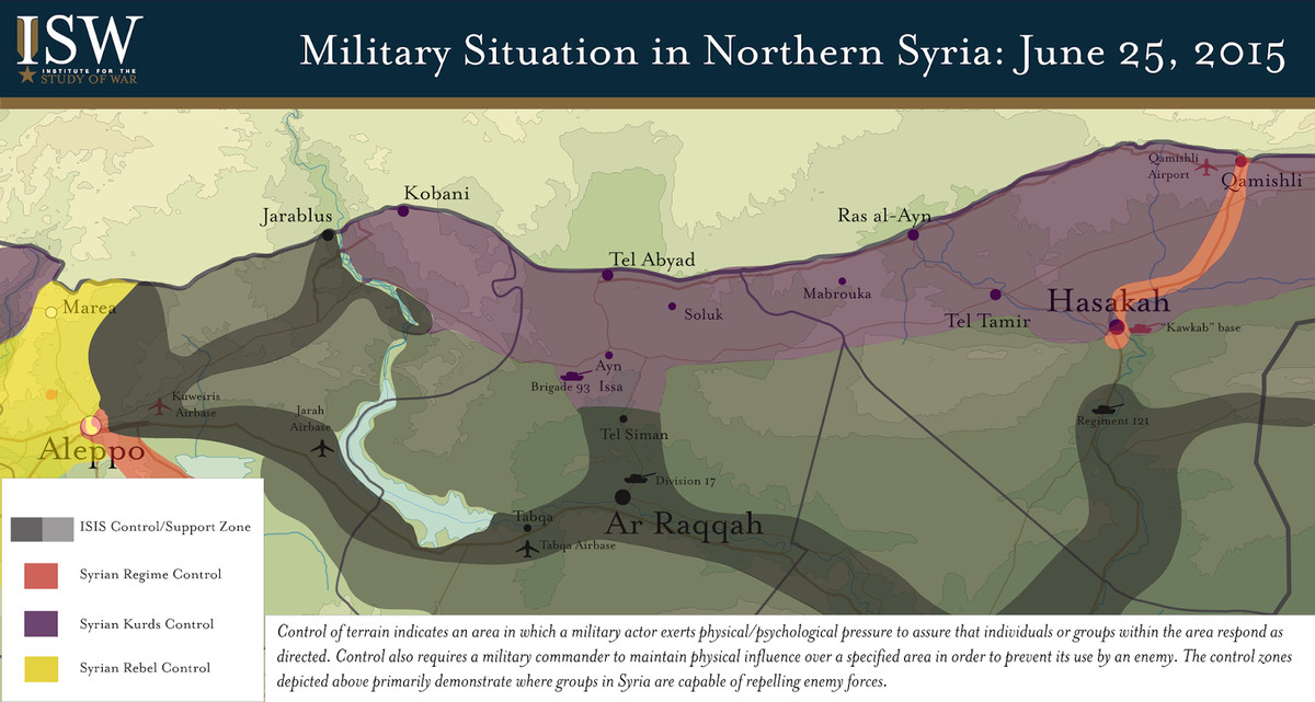 ISW northern Syria