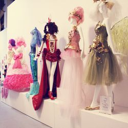 JapanLA's Stephiee Nguyen curated this Hello Kitty-inspired cosplay fashion exhibit.