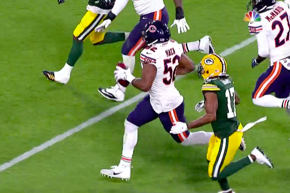 9c0f0b1dc Just one half into the season, the Chicago Bears already look like the  winners of the Khalil Mack trade. Mack was an absolute wrecking ball in the  first ...