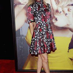 Leslie Mann at the New York premiere of <i>Trainwreck</i>.