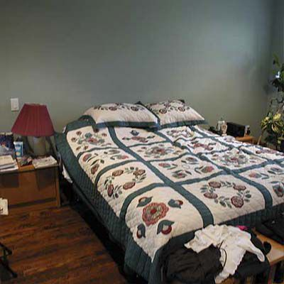 Before House Staging: Master Bedroom
