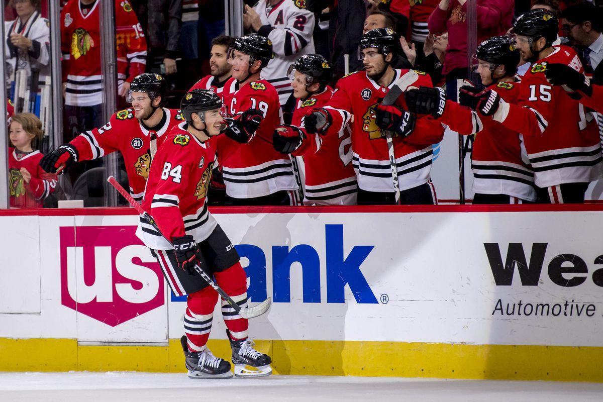 NHL: Tampa Bay Lightning at Chicago Blackhawks