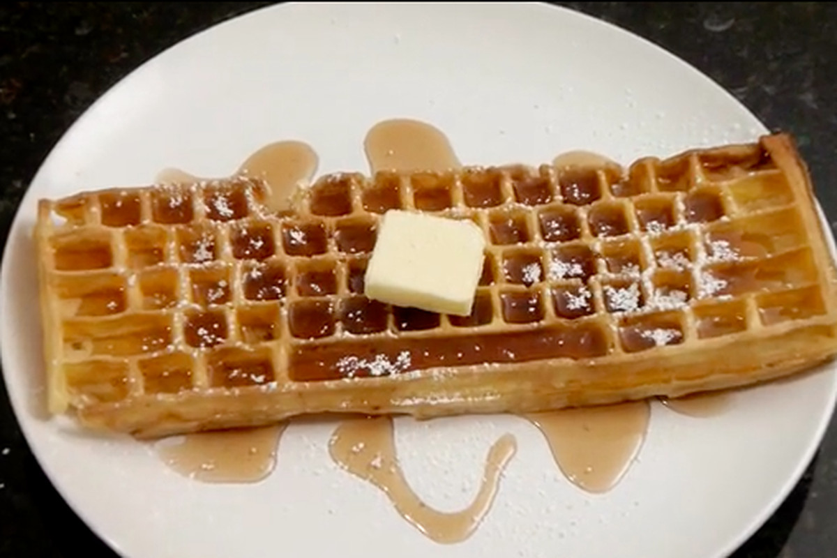 A Keyboard Waffle Iron for the Holidays?