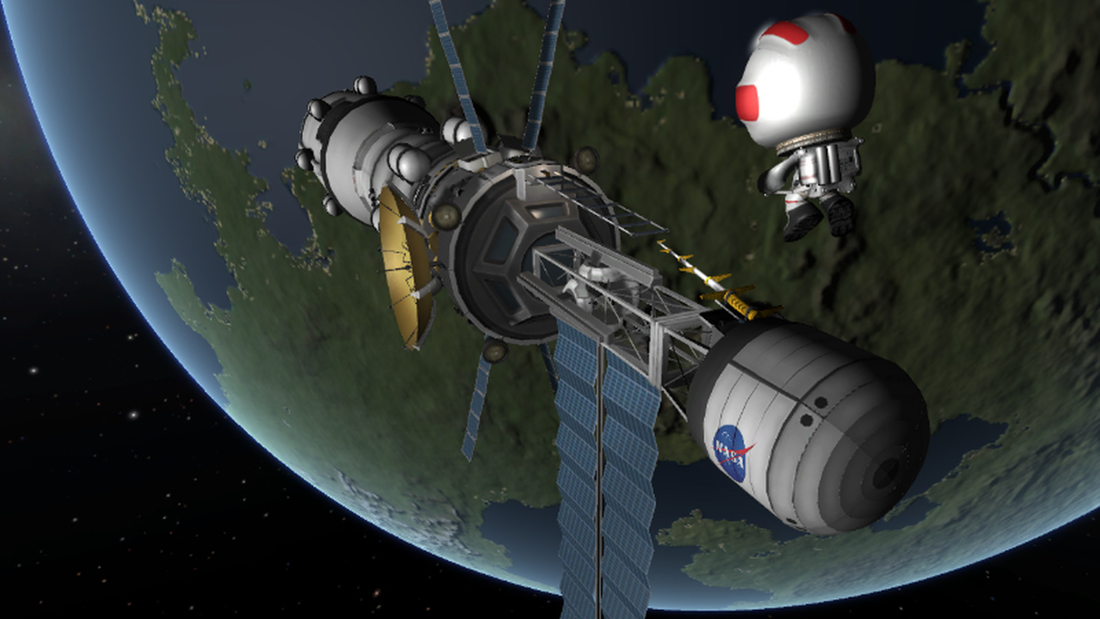 Kerbal Space Program's Asteroid Redirect Mission now ...