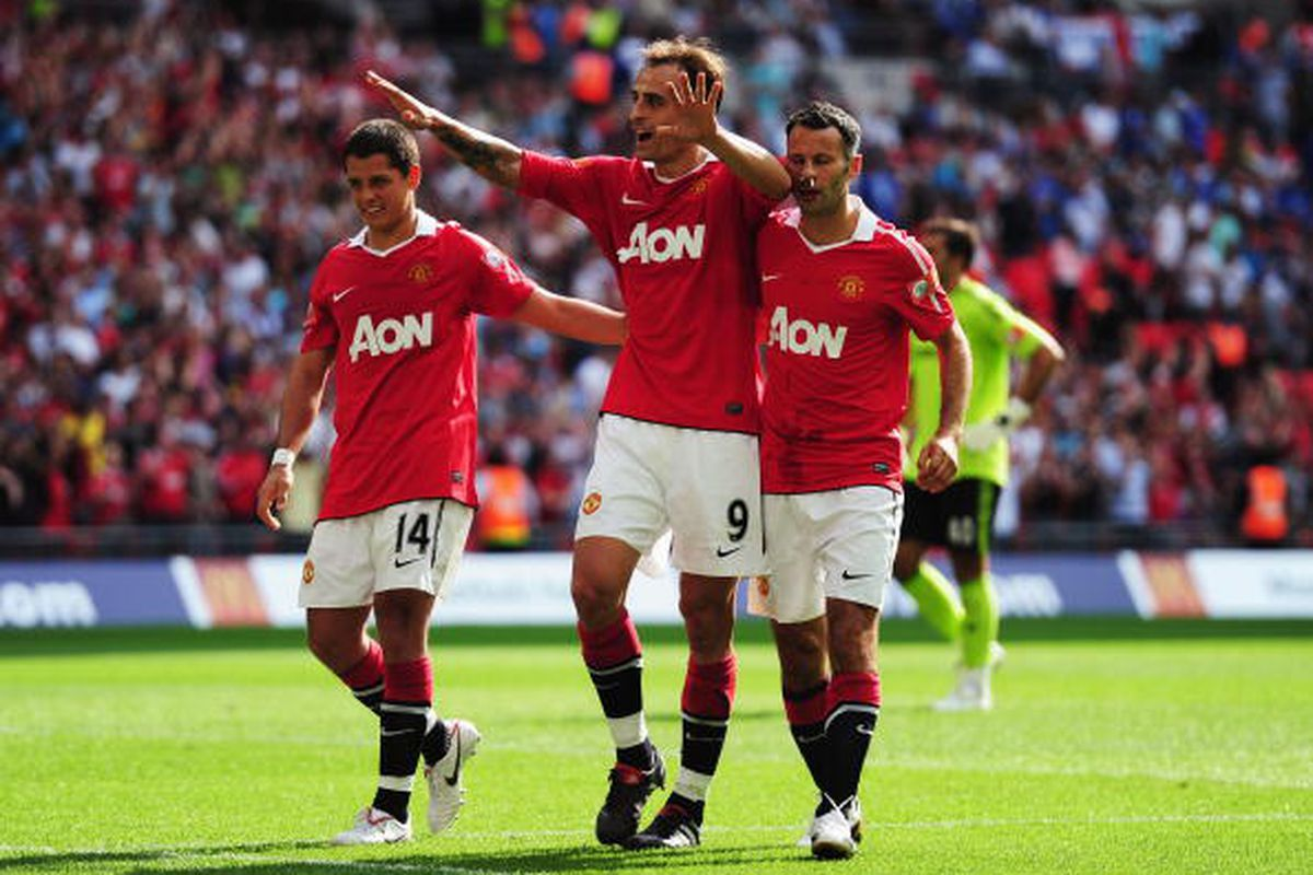 Manchester United winner of Community Shield 8/8. Photo via Getty Images