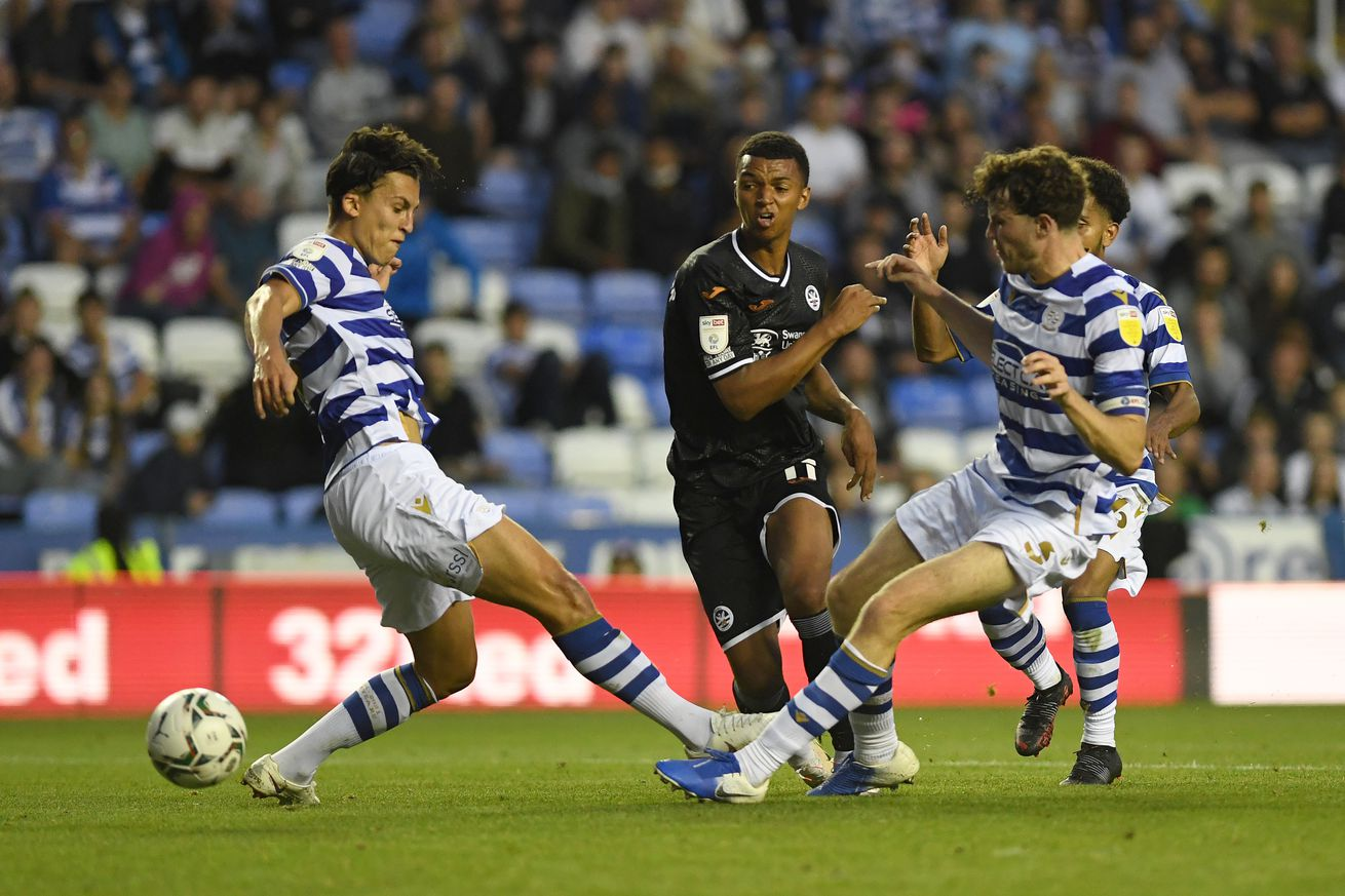 Reading v Swansea City - Carabao Cup First Round