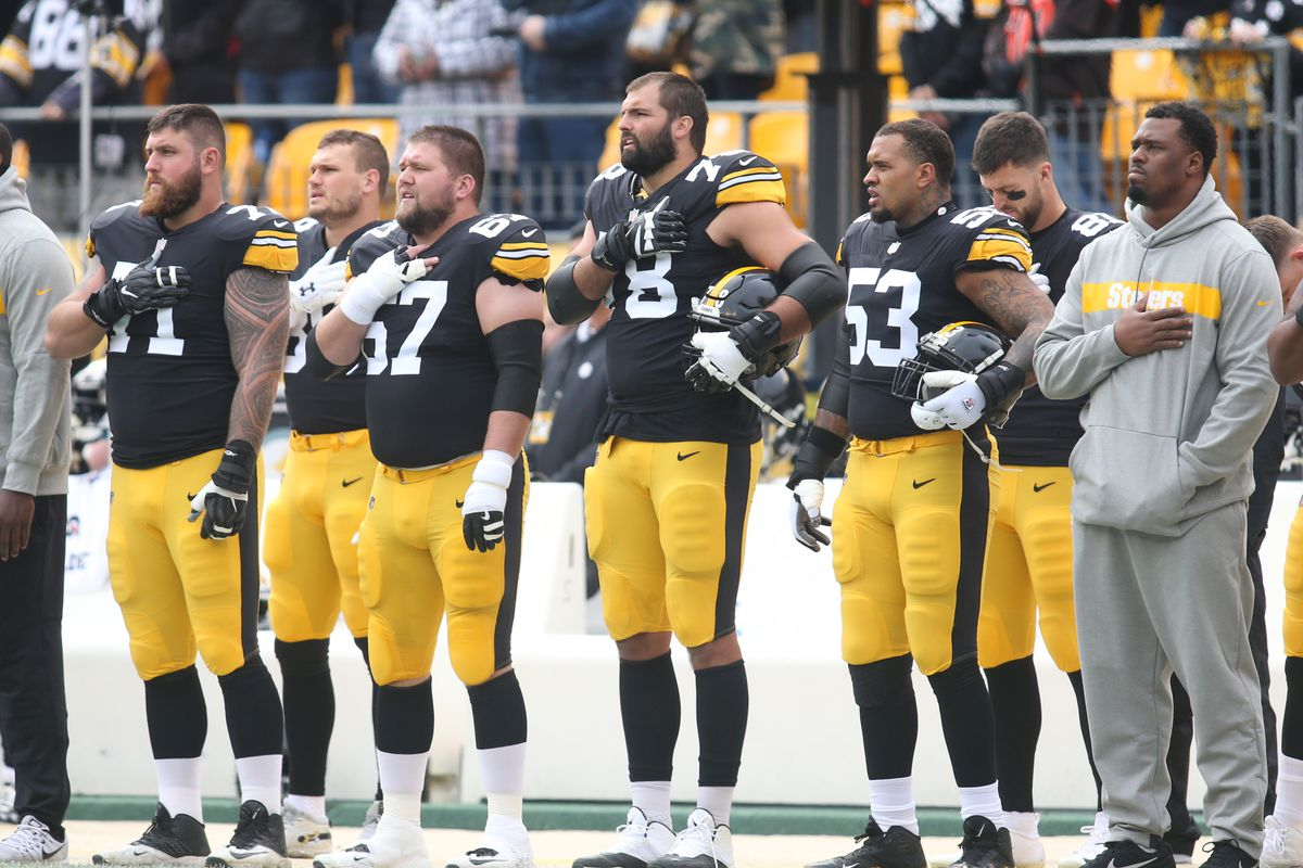 341dfd323 The Steelers  offensive line is bonding into the league s very best ...