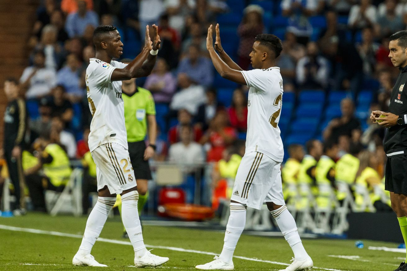 Rodrygo: ?I hope my partnership with Vinicius is successful in Real Madrid?