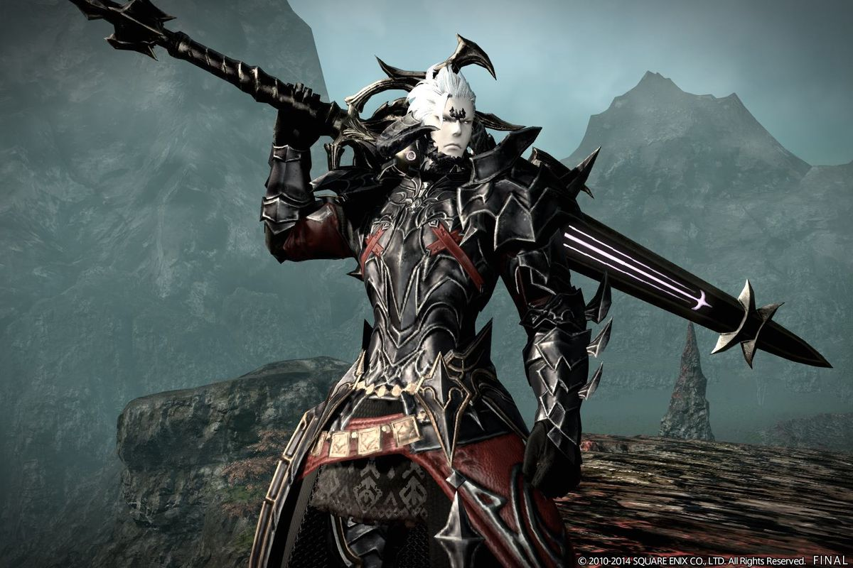 final fantasy 14 gets a dragon inspired race new jobs and more