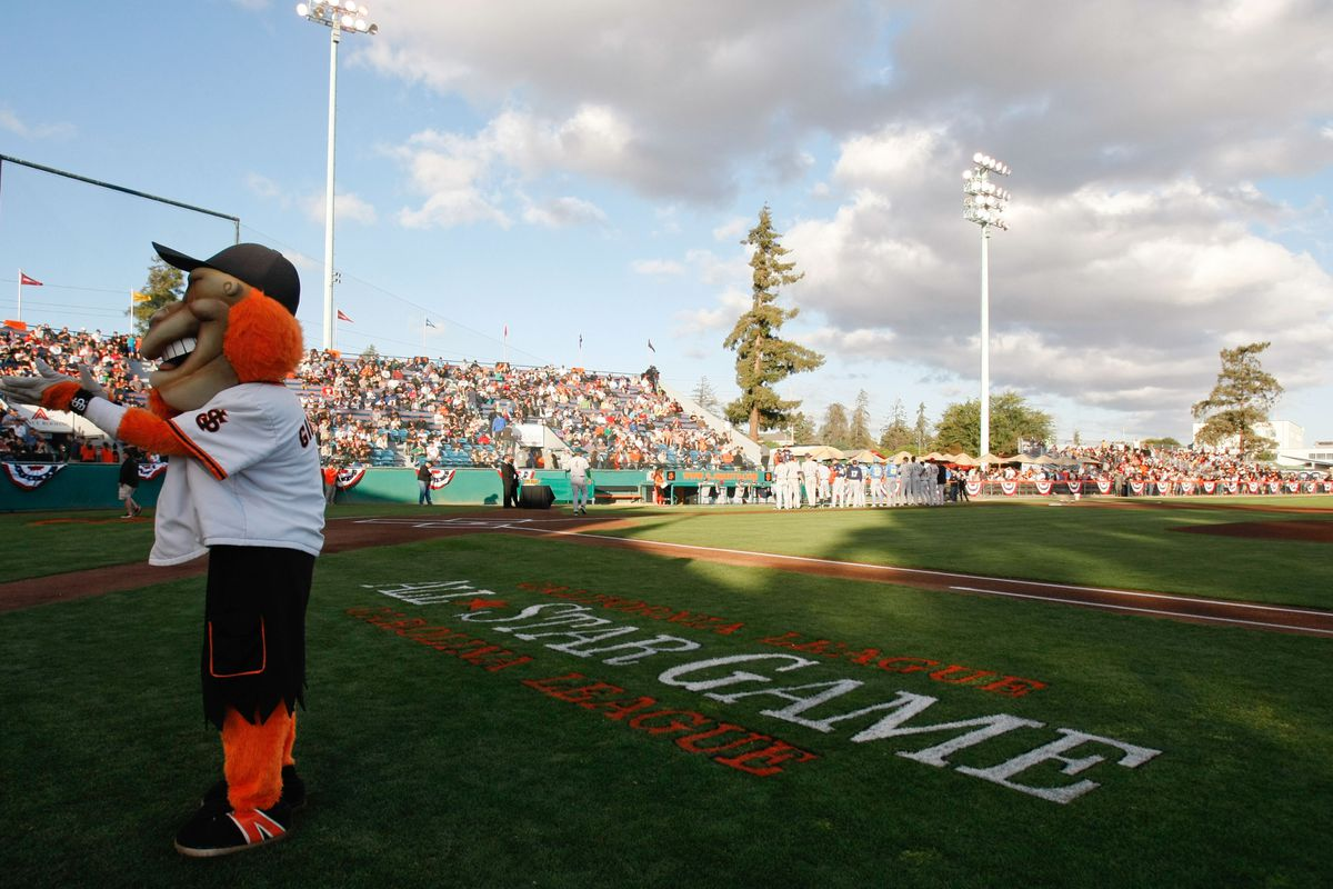 Many Giants prospects will call Municipal Stadium their home in 2014.