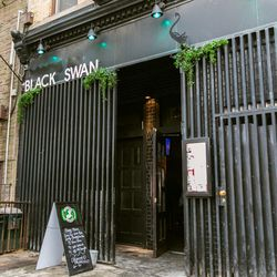 """<b>↑</b> Fill up on comfort food at <b><a href="""" http://blackswannyc.com/"""">Black Swan</a></b> (1048 Bedford Avenue). The gastropub features dishes like rum French toast, a traditional English breakfast, and a lobster """"PLT"""" with pork belly and fried egg. W"""