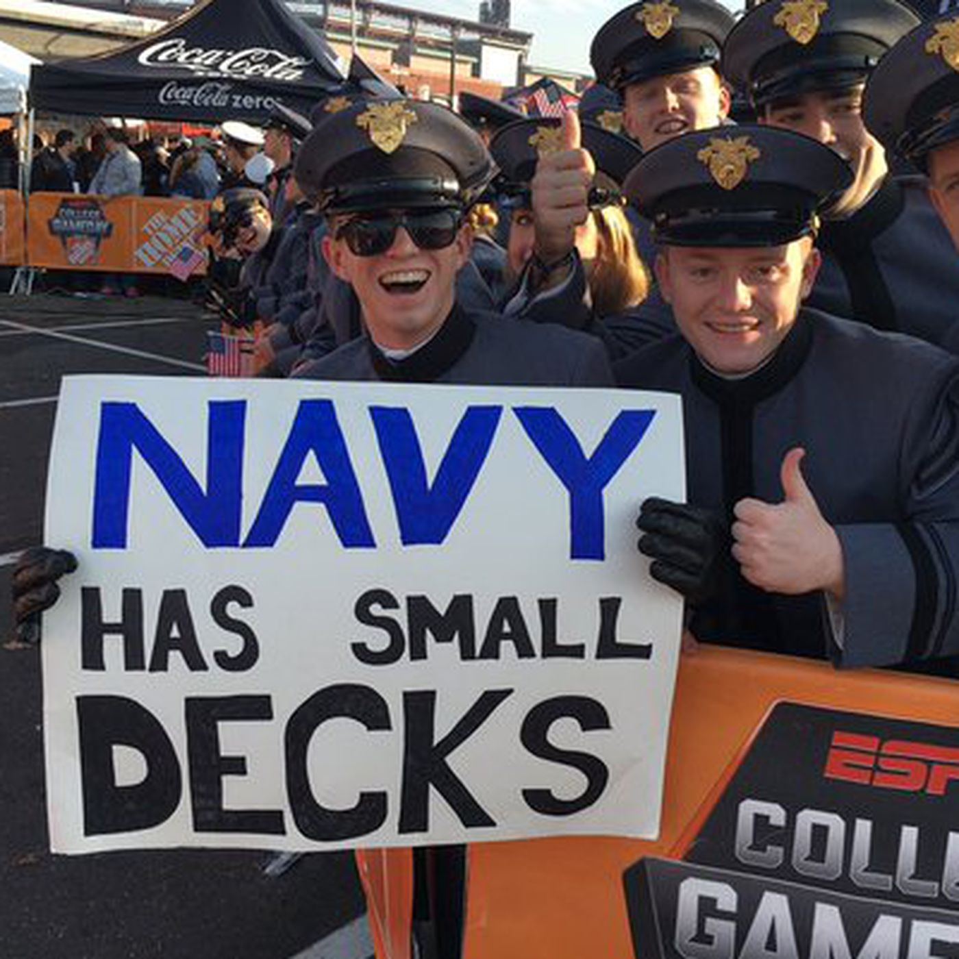 Image result for beat navy gameday
