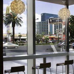 The view from the front windows at Pinkberry.