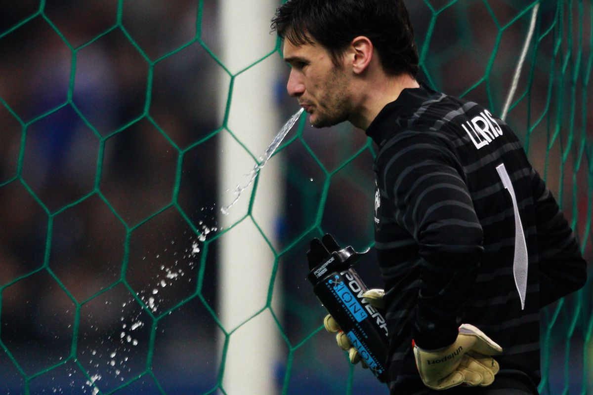 PARIS, FRANCE - MARCH 29:  Goalkeeper, Hugo Lloris of France looks on during the International friendly match between France and Croatia at Stade de France on March 29, 2011 in Paris, France.  (Photo by Dean Mouhtaropoulos/Getty Images)