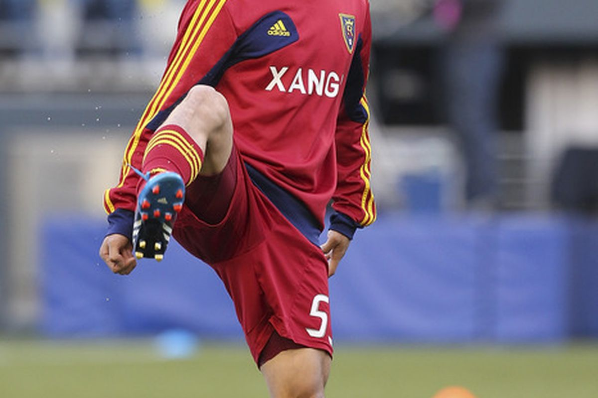 With national team call ups and no shortage of matches for RSL outside of the MLS schedule could you be seeing a lot more of Terukazu Tanaka in the coming month? (Photo by Otto Greule Jr/Getty Images)