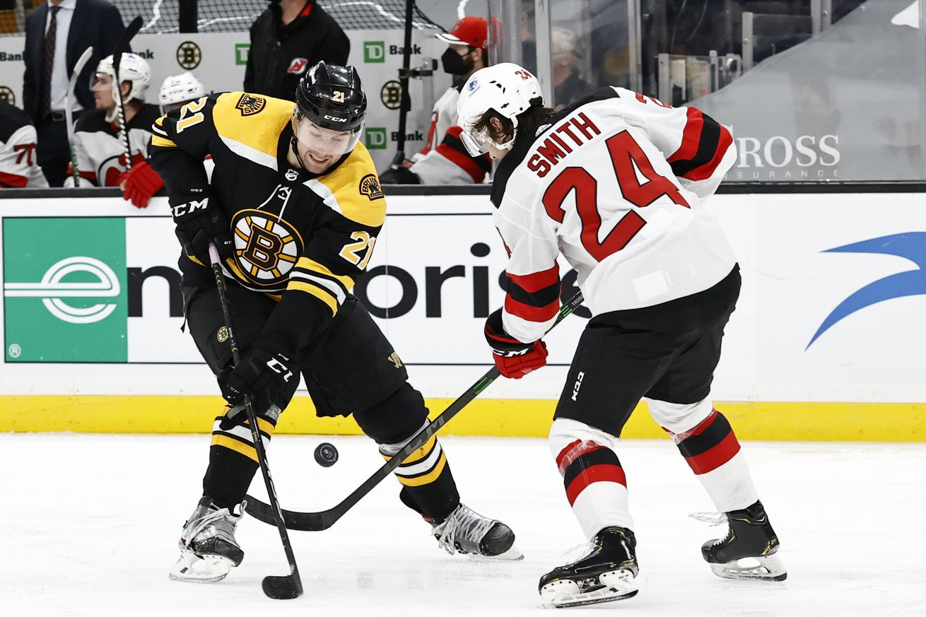 NHL: MAR 30 Devils at Bruins