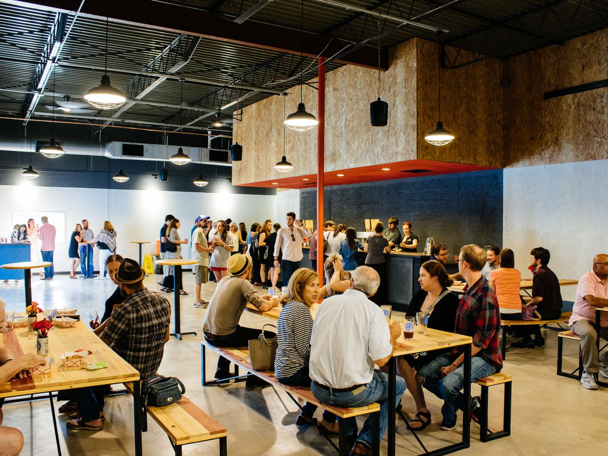 The new taproom at Second Self Beer Company.
