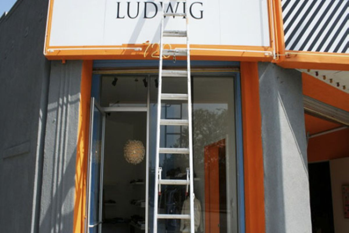 """We imagine the ladder is gone by now. Image via <a href=""""http://www.ludwigvantheman.com"""">Ludwig</a>"""
