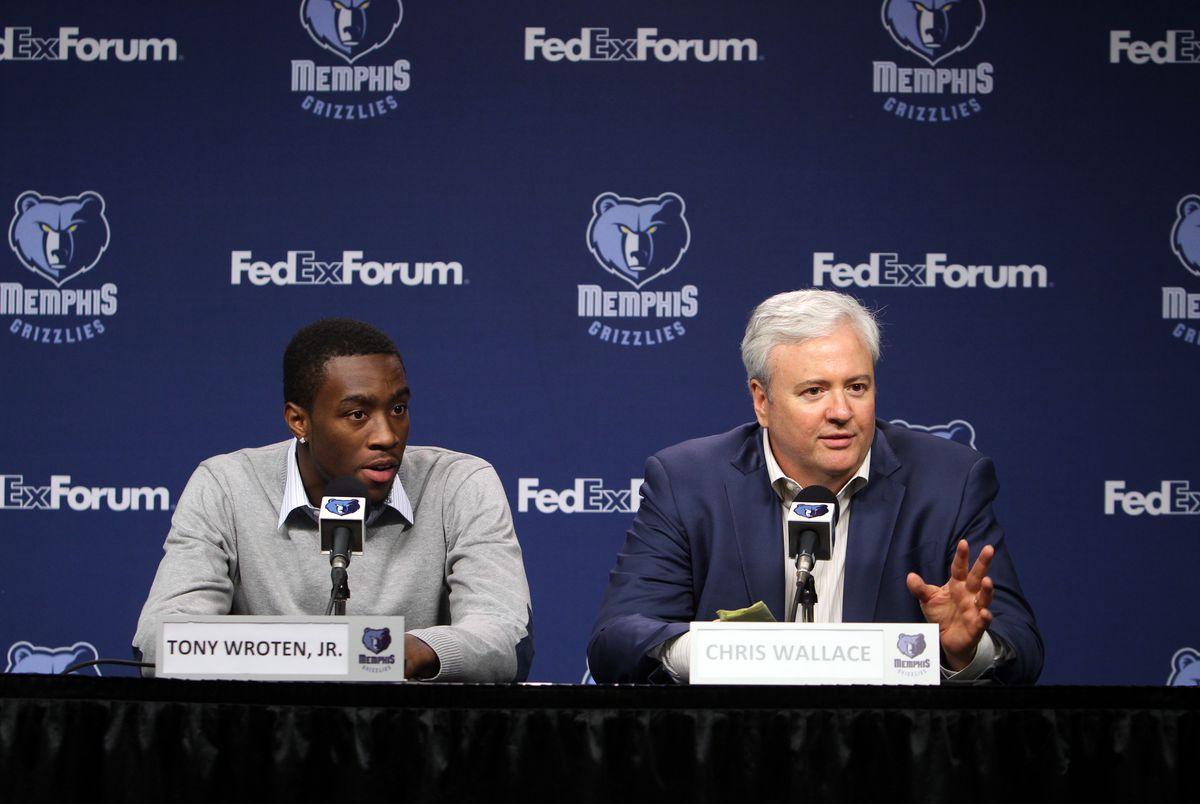 Memphis Grizzlies Introduce 2012 Draft Pick - Tony Wroten