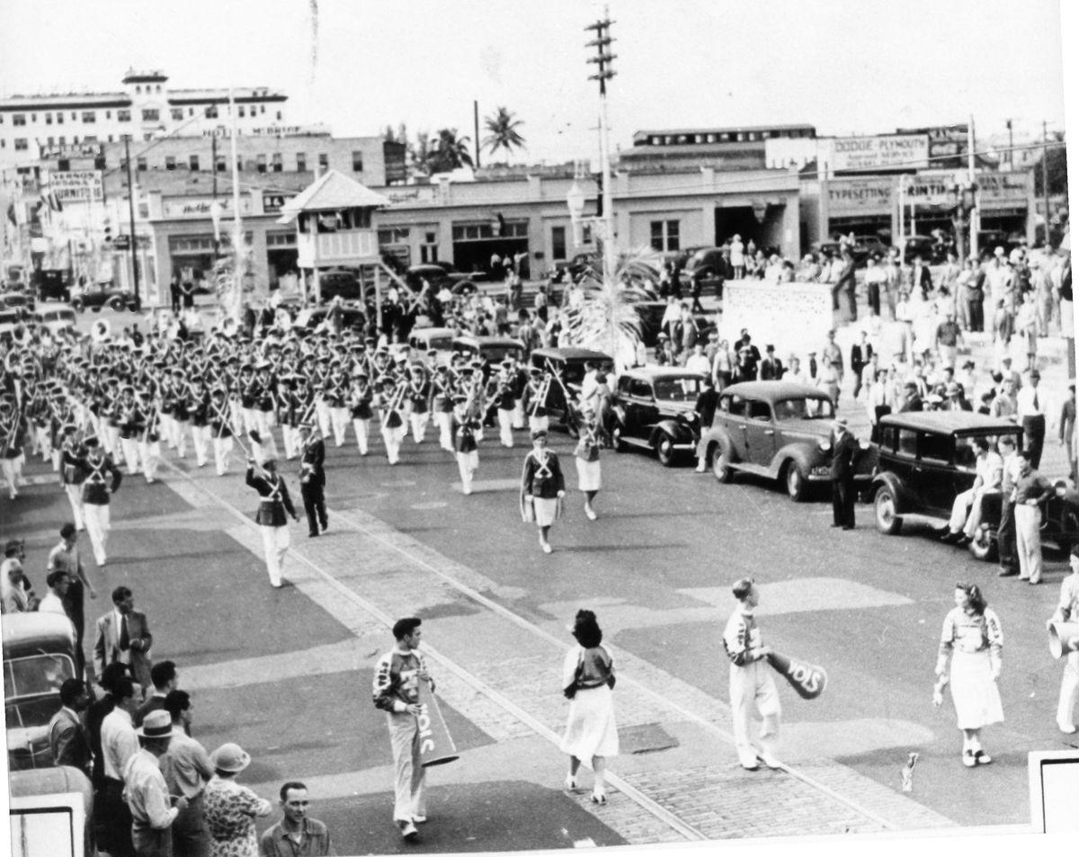 1939 Orange Bowl Parade