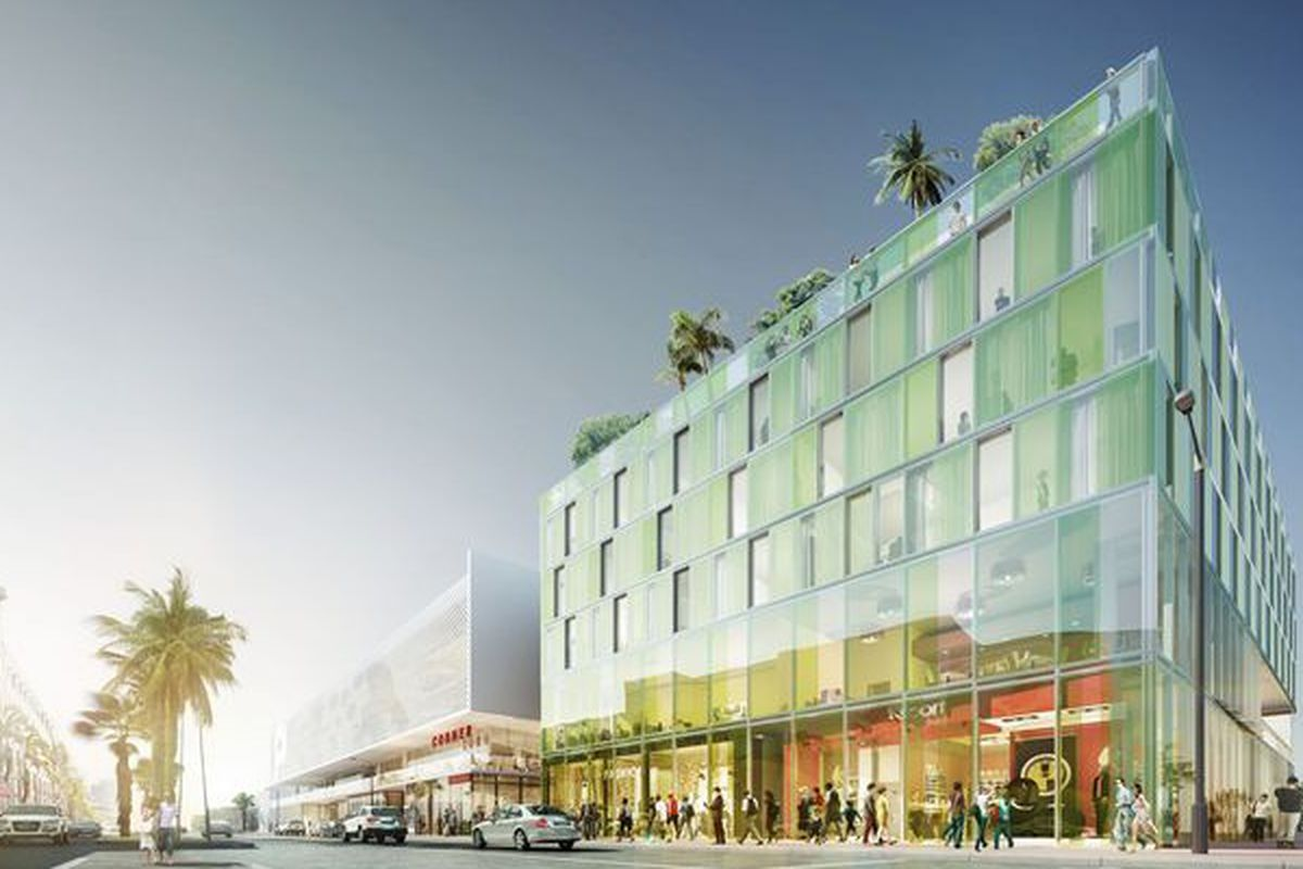 Rendering of 1212 Lincoln