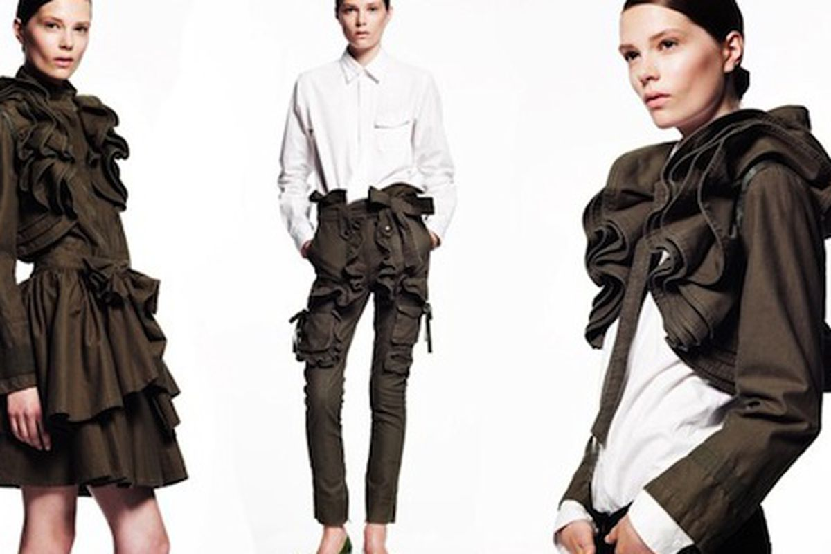 Selections from Valentino x Gap collection