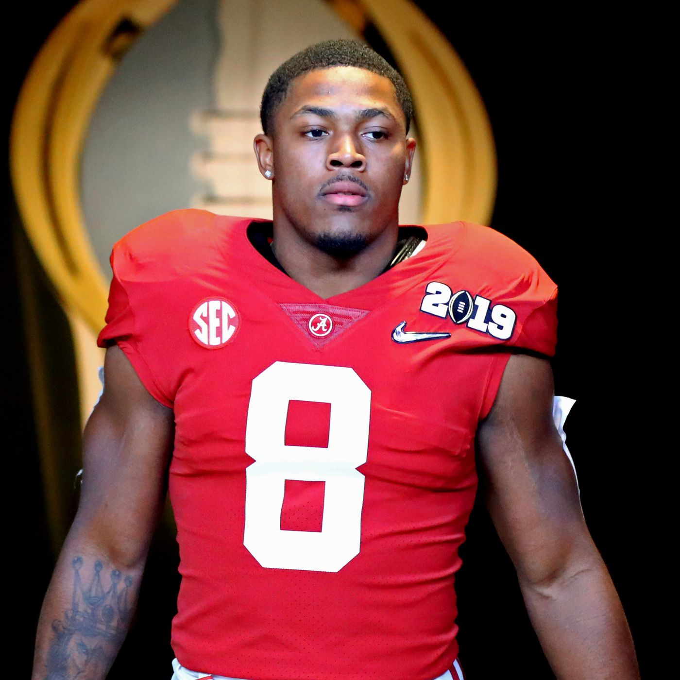 2019 Nfl Mock Draft Oakland Raiders Select Rb Josh Jacobs At No 27 Dawgs By Nature