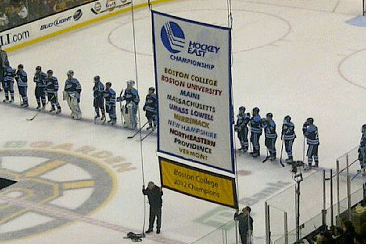All your TD Garden banners are belong to us! via Kenny St. John